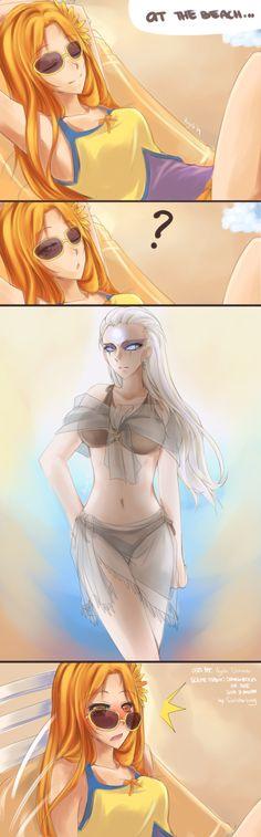 Diana x Leona