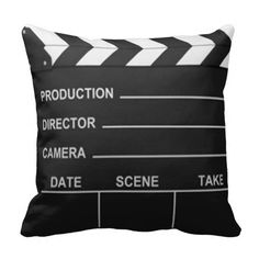 Lights Camera Action - Pillow Nice for a theater room Movie Theater Rooms, Home Theater Setup, Home Theater Speakers, Home Theater Projectors, Home Theater Seating, Cinema Room, Movie Rooms, Tv Rooms, Game Rooms