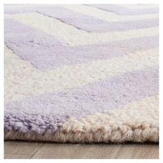 Dalton Textured Rug - Lavender / Ivory (6' X 6' Square) - Safavieh, Purple/Ivory