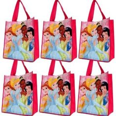 FREE SHIPPING: 6-pack Disney Princess Tote Bag - Reusable - Use As a Disney Princess Gift Bag or Disney Princess Party Favors for Disney Themed Parties - More Princess Party Supplies At Our Storefront (Toy) http://www.amazon.com/dp/B006WCKY0Q/?tag=healthresearc-20 healthresearchtoday.com/redirector.php=B006WCKY0Q