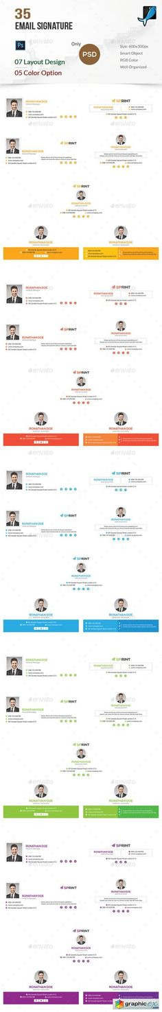 Esignatures Is A Collection Of  Email Psd Signatures Suitable