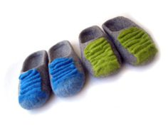 Suela de goma de mis zapatillas de fieltro