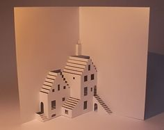 Baud and Bui | Origamic Architecture Kirigami Cards for Free !