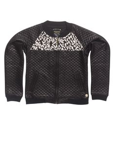 JACKET: IBG25-1010 Style name:Jacket, Bomber Color no.:999 Color:Black
