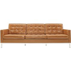 Lyte Leather Sofa Tan