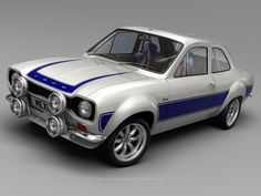Ford Escort Mexico - Mexico has cars that are not available in the US. Escort Mk1, Ford Escort, Ford Motor Company, Retro Cars, Vintage Cars, Ford 2000, Automobile, Ford Classic Cars, Classic Motors