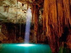 Another cool place to visit...Cenote....Cancun