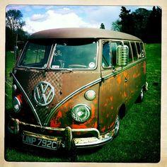 Patina VW Camper by JacquiJSB, via Flickr