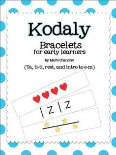 Kodaly Bracelets - interesting idea. A Take home tool for primary learners to reinforce the music objectives learned during the day. Can be adapted for other subjects...