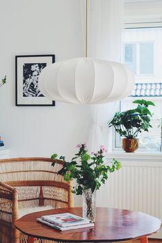 Taklampa ECO off white 60 cm