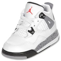 The classic Jordan Retro 4 is one of the highest rated shoes, and the cement colorway makes this retro a must have. The shoe was originally released in 1989 and was an instant hit. Features full grain leather upper, mesh quarter panels PU and solid rubber midsole with visible air sole unit in the heel.