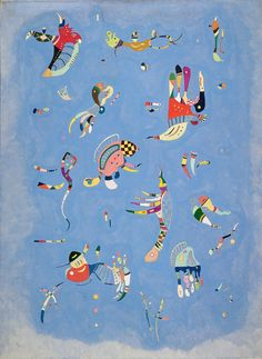 Wassily Kandinsky - 50 Most popular paintings
