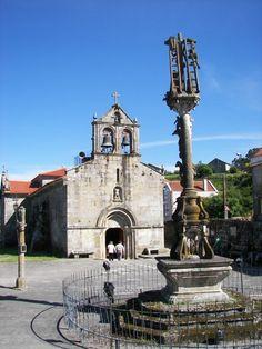 Cruceiro de Hio. (Pontevedra). Galicia. Spain.