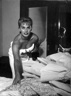 Sophia Loren in una foto di Mario De Biasi