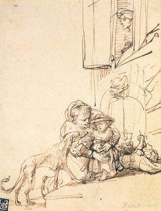 Рембрандт Харменс ван Рейн. Рисунок (82 работ)
