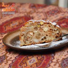 Arabskie smaki i aromaty: Jabłka, orzechy, rodzynki, zero tłuszczu. Placek włoski zarabszczony nieco :)