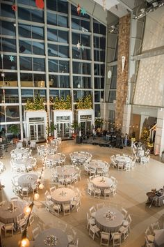Such a beautiful holiday event! Photo by The Siners Photography. #Indianapolis #wedding #venue #IndianaStateMuseum