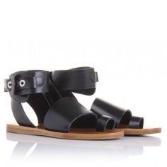 eb8295f3f39b Balenciaga Multi-Strap Leather Sandals Used size 38.5 (fit like US 8-8.5