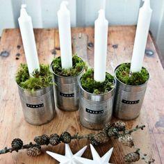 Christmas Table DIY / Une table de fête DIY