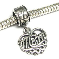 Jewelry & Watches Fine Jewelry Sterling Silver Dangle Love God Tag European Bead Great Varieties