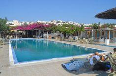 Olhem essa piscina do hostel!