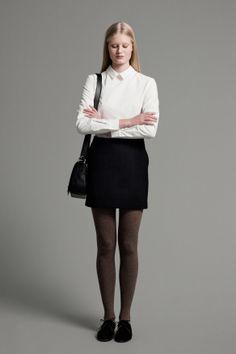 Telma Shirt, Emmie Skirt and Postman Bag | Samuji FW14 Classic Collection
