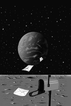 El diseño de la portada de La Carta de la Luna va tomando forma.