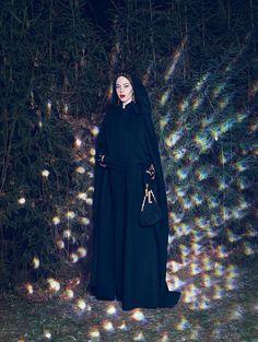 Fashion portraits of Russian fashion designer and muse, Ulyana Sergeenko. Nickolas Sushkevich via Garage Magazine