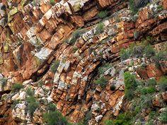 Rock Folds, Meiringspoort - South Africa