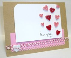 I really l like the quilled hearts on this card.  also, there are a lot of other pretty cards on this page.