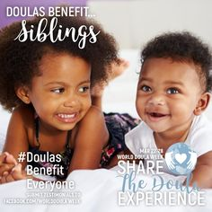 #doulasbenefiteveryone #siblings Doula, Siblings, Benefit, Celebrities, Face, Celebs, The Face, Faces, Celebrity