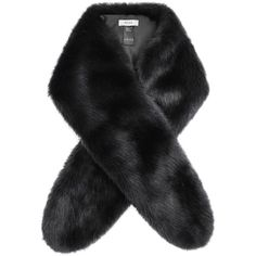 Reiss Faux Fur Scarf , Charcoal ($110) ❤ liked on Polyvore featuring accessories, scarves, charcoal, reiss, faux fur scarves, faux fur shawl, fake fur scarves and fake fur shawl