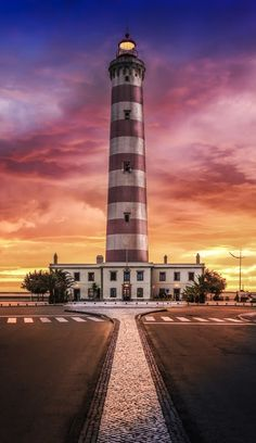 Lighthouse of Aveiro, Portugal