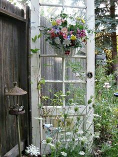 Shabby chic garden ideas backyards old doors 70 Ideas Shabby chic garden ideas backyards old doors 7 Garden Doors, Garden Gates, Garden Sheds, Backyard Sheds, Rustic Gardens, Outdoor Gardens, Rustic Garden Decor, Garden Decorations, Yard Art