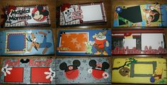 Beyond The Cover: Scrapbooking Disney Mini Albums