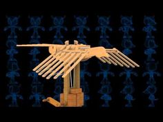 Flying Bird Wooden Toy 3D Model - YouTube