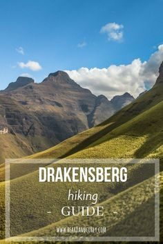 One of our favorite places in South Africa is the Drakensberg mountains. Our Drakensberg hiking guide covers all the best hikes, costs, and where to camp. Hiking Guide, Hiking Tours, Hiking Trails, Travel Guide, Camper, Cultural Experience, Mountain Hiking, Best Hikes, Africa Travel