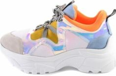 Bambi parlak detay turuncu sarı topuklu spor ayakkabısı modeli Bambi, Huaraches, Nike Huarache, Balenciaga, Sneakers Nike, Shoes, Fashion, Nike Tennis, Moda
