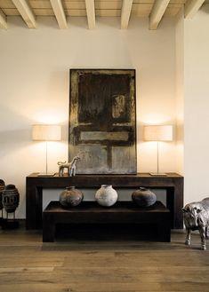 The Inspired Home: Interiors of Deep Beauty: Donna Karan, Karen Lehrman Bloch Global Style, Inspired Homes, Contemporary Interior, Contemporary Style, Interior Accessories, Elle Decor, Interiores Design, Interior Inspiration, Interior Ideas
