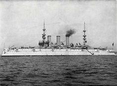 U.S. Navy 1898 | Photograph : USS New York : Armored Cruiser.
