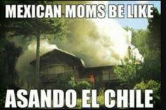 Asando el chile...then Neverending cough