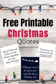 Free Printable Christmas Quotes Christmas Quotes, Diy Christmas Gifts, Christmas Projects, Christmas Eve, Christmas Decorations, Free Christmas Printables, Free Printables, Time Quotes, Merry