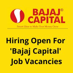 Job vacancies for 100 candidates for ''Bajaj Capital''. The work location in Bangalore. The salary will be 15K. The post Hiring open for 'Bajaj Capital' jobs appeared first on Jobs and Auditions.