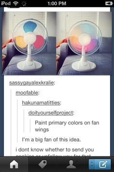 I'm definitely doing this #colourful #bedroom #diy