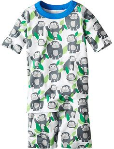 Short John Pajamas In Organic Cotton from Hanna Andersson