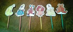 Max and Ruby Birthday Party  Cupcake Toppers