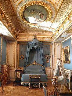 Petits appartements des Princes de Condé - chambre de la Duchesse