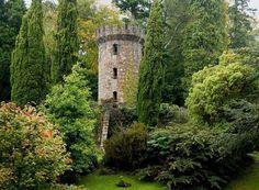 "pagewoman: "" Powerscourt Tower, Enniskerry, Co Wicklow, Ireland by Bruce Glass """