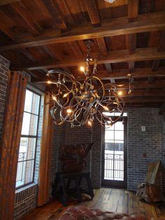 Amazing Bohemian Hotel (Savannah) Lobby lighting