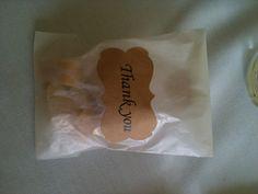 Wedding favours - heart fudge